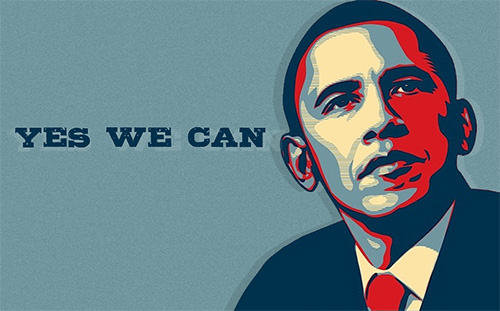 Barack obama yes we can
