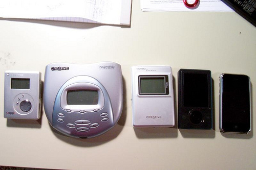 MP3 Evolution by tmray02