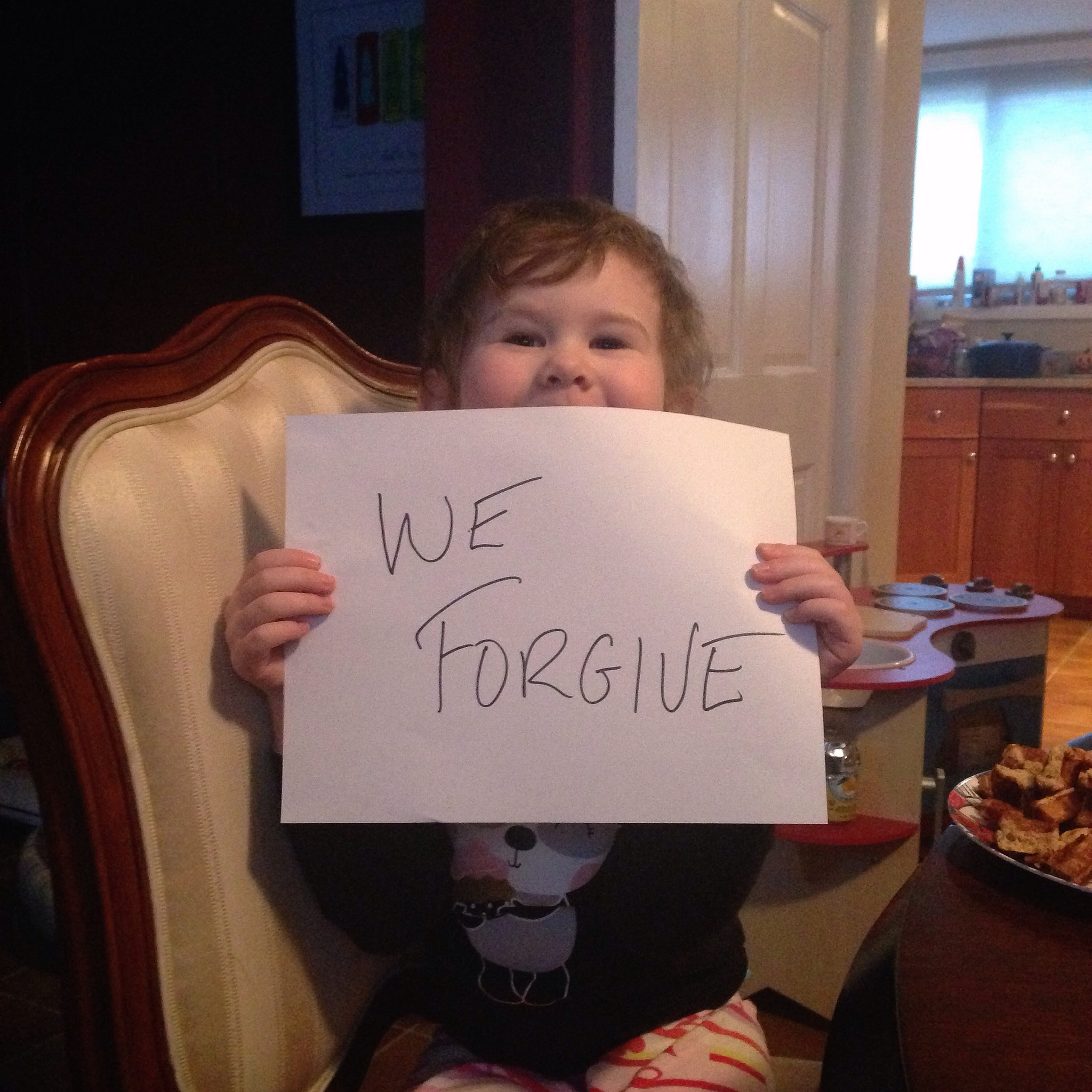 Taking On the Forgiveness Challenge