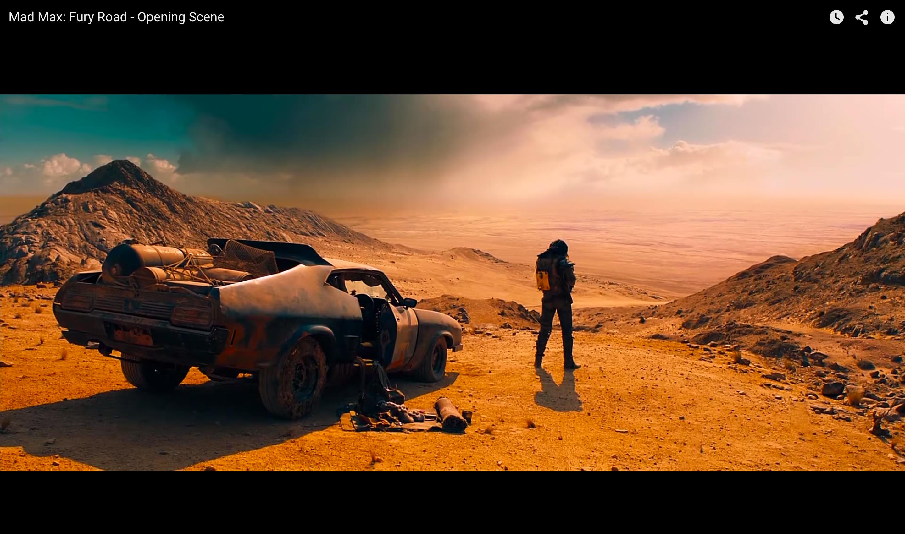 Fury Road Opening Scene