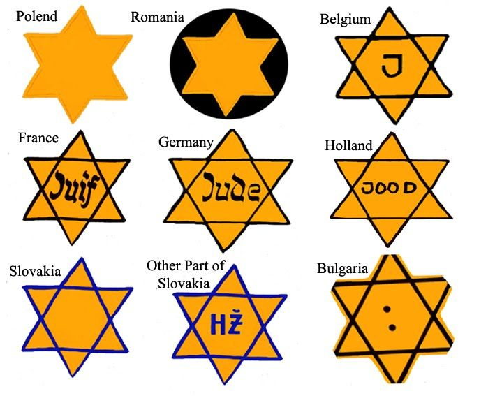 Yellow Stars, Pink Triangles, and Blue Crescents