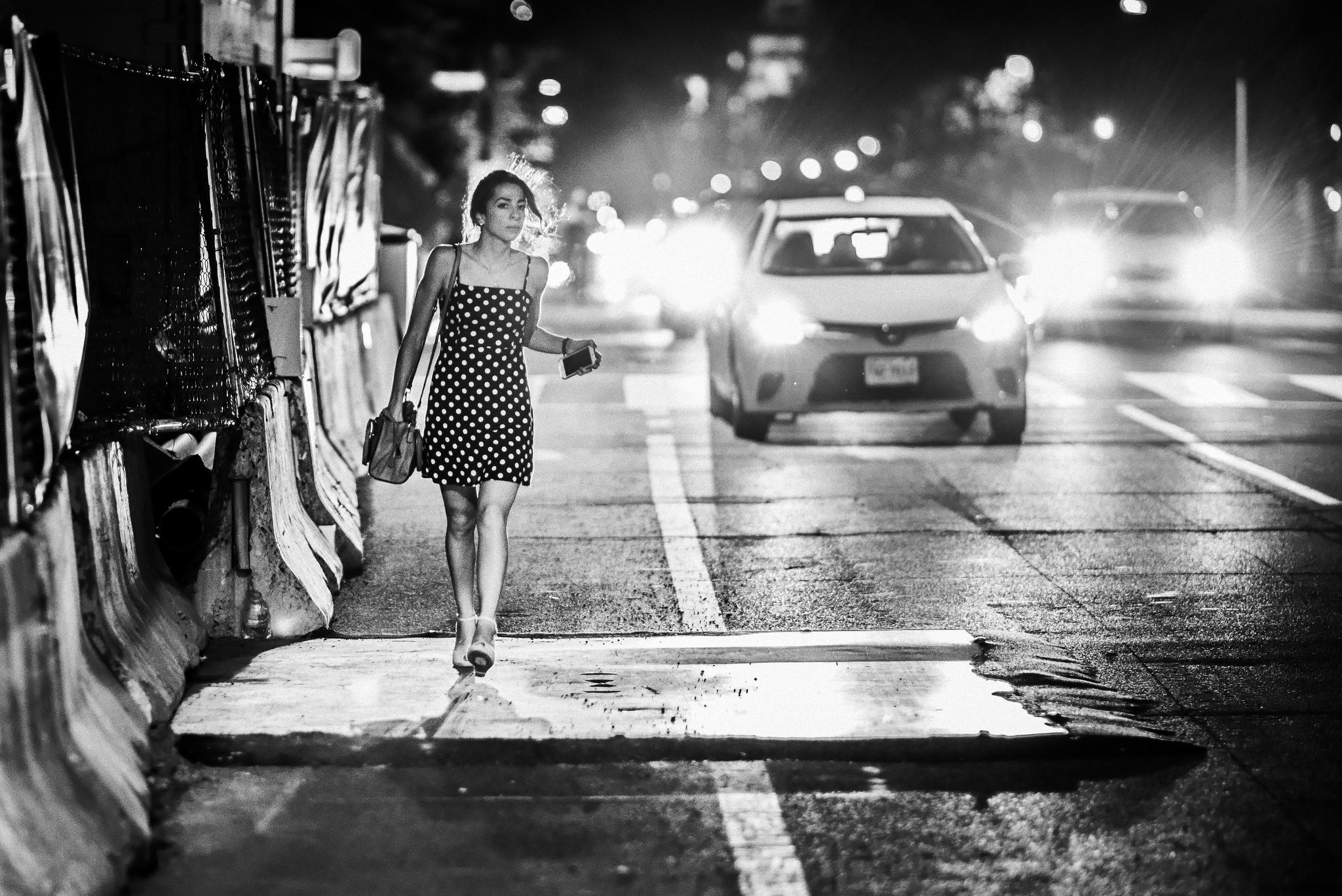A Street Portrait taken in DC