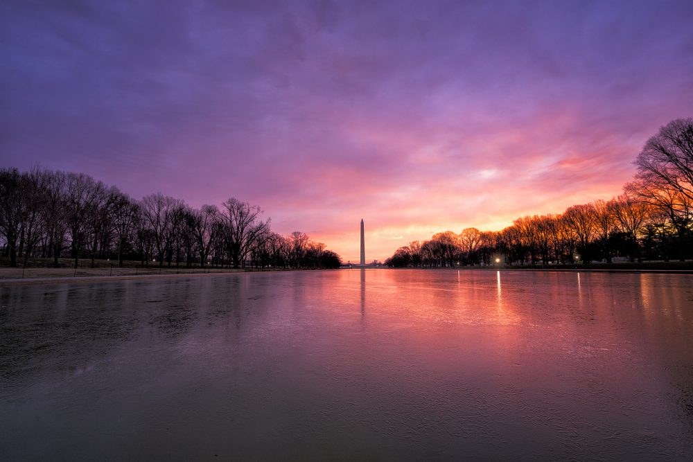The Washington Monument by Angela Pan